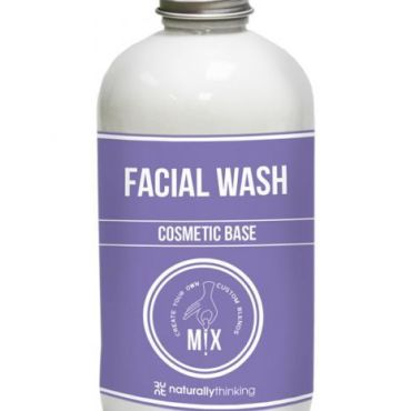 Naturallythinking Face Wash Base, smooth silky and glowing skin, use alone on sensitive skin or tailor with the addition of essential oils