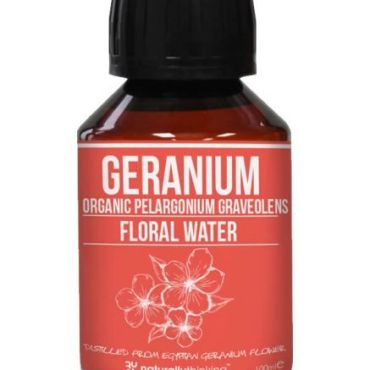 Geranium floral water, skin balancing and ideal for combination skin and weepy eczema. Use on shingles
