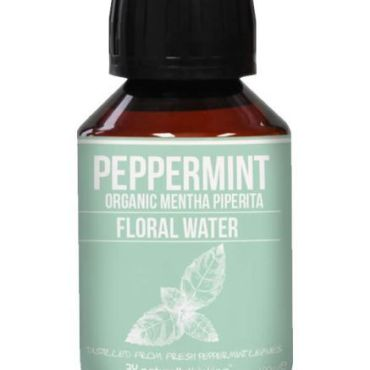 Peppermint water is cooling, antiseptic and useful on burns and sunburn Ideal for summer time use or for use when you are hot and bothered