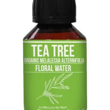 Anti-fungal and a popular choice with teenage boys for acne; tea tree water is refreshing and cleansing to the skin.