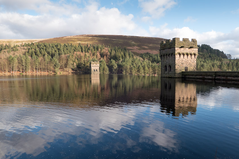 Howden Reservoir and Dam, Peak District
