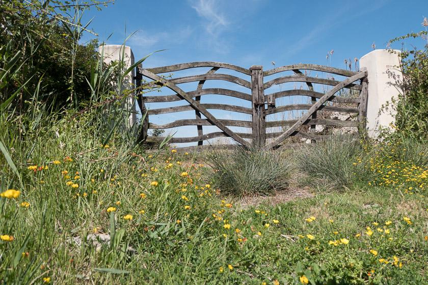 Farm gate at S'Albufera