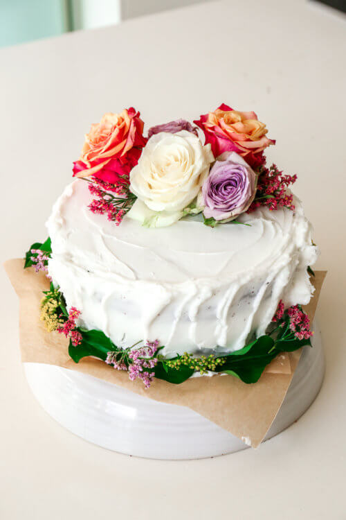 Homemade Vegan Wedding Cake For Under 25 Natural Born Feeder