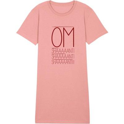 Yoga Shirtkleid für Damen in Rose.