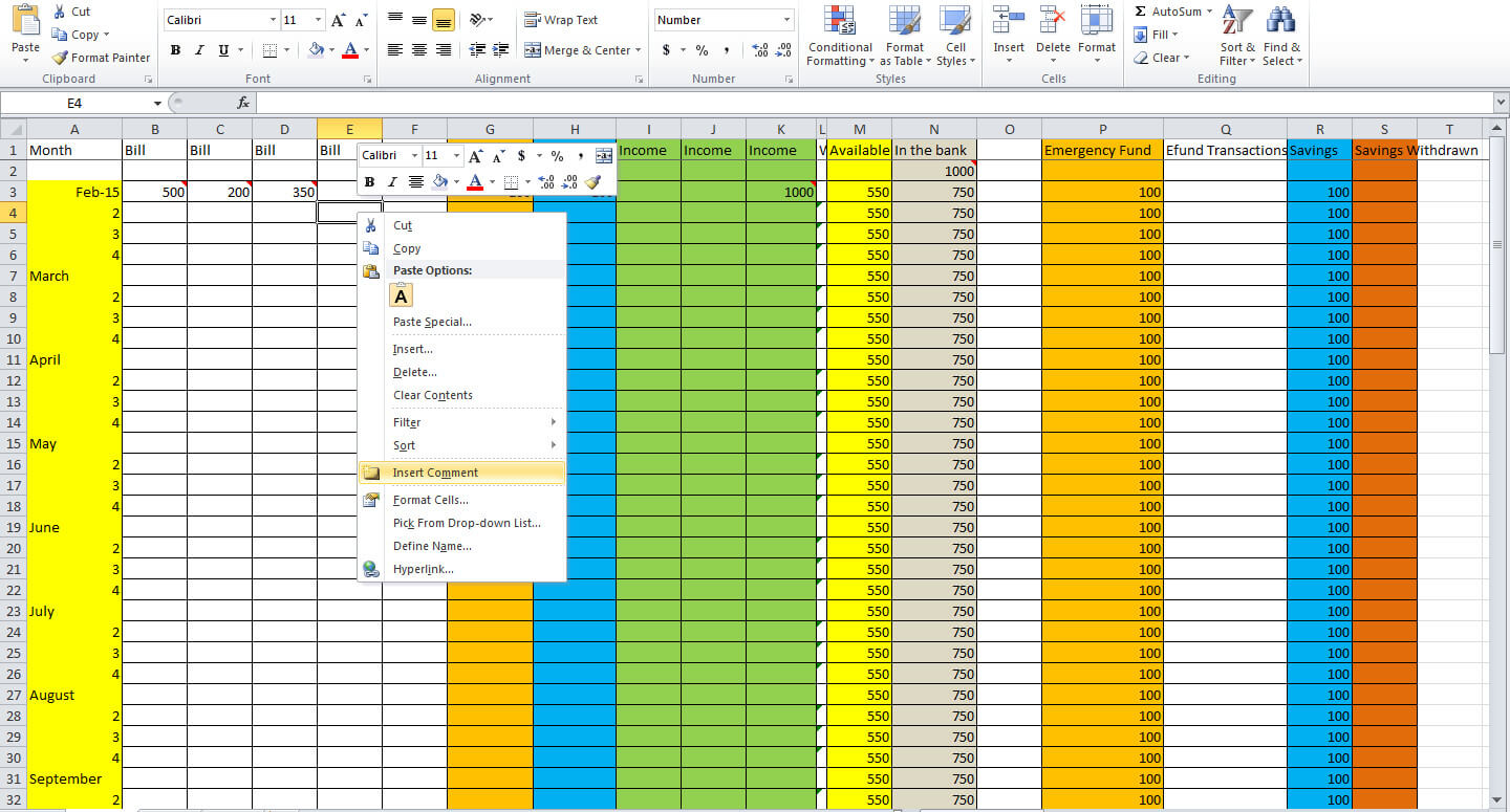 Keep Track Of Medical Expenses Spreadsheet