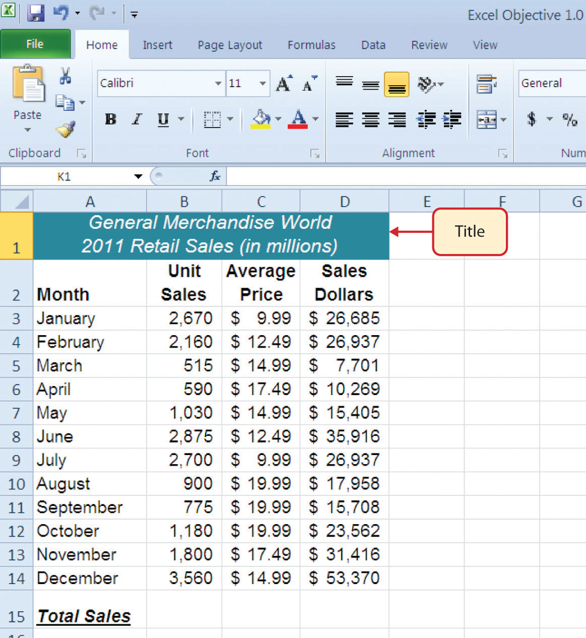 Spreadsheet Model Definition