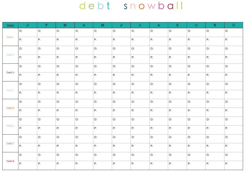 debt reduction planner