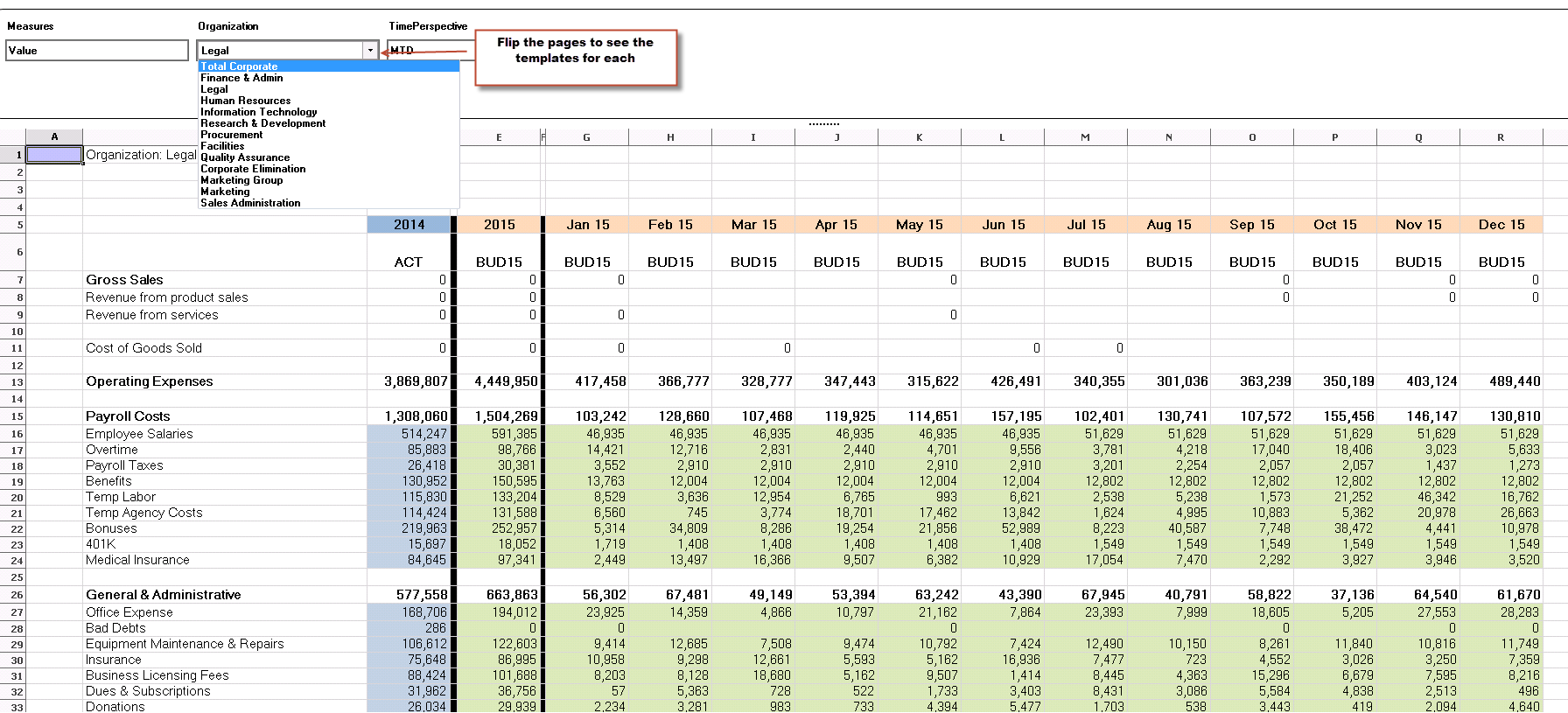 department budget spreadsheet - April.onthemarch.co