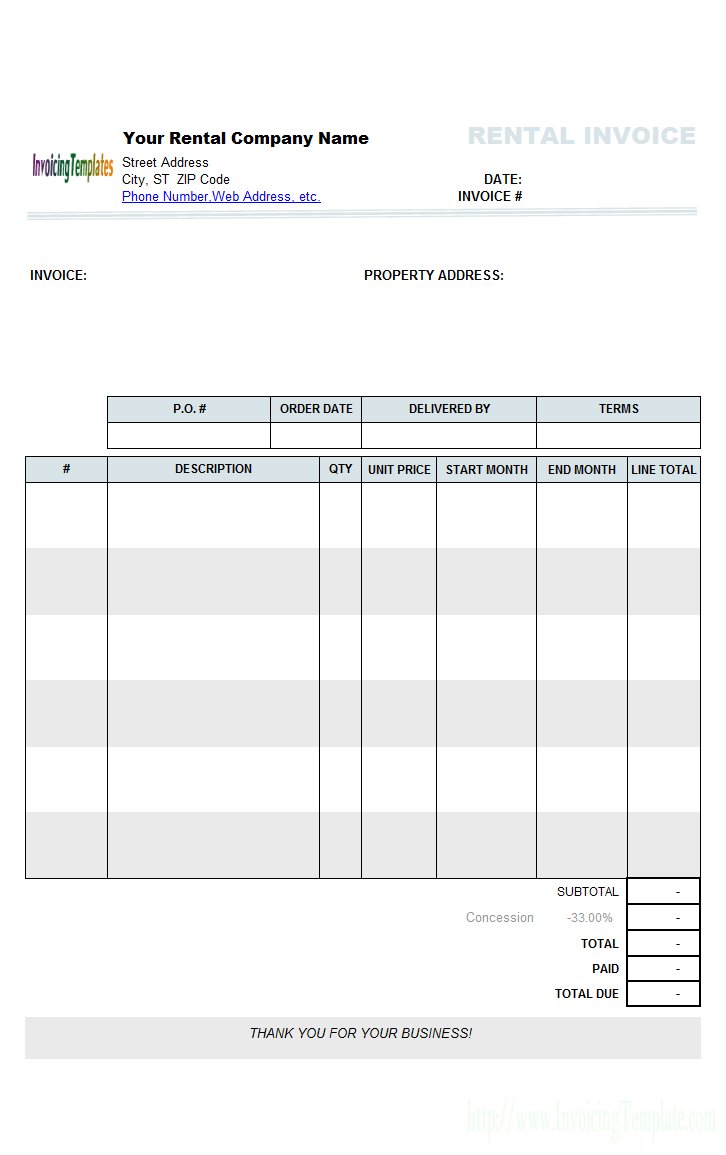 Rental Property Management Spreadsheet Template | Natural Buff Dog