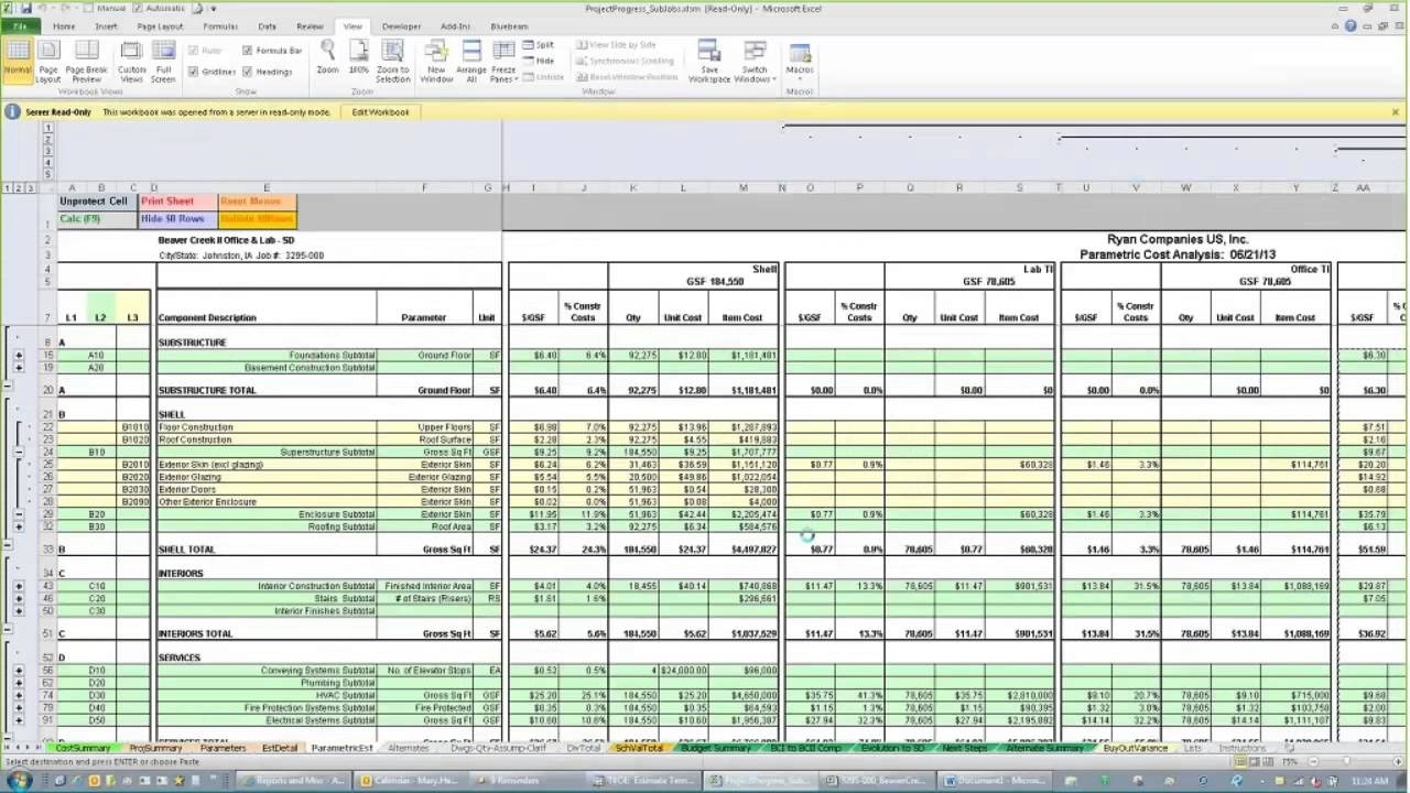 Project Cost Tracking Spreadsheet Haisume