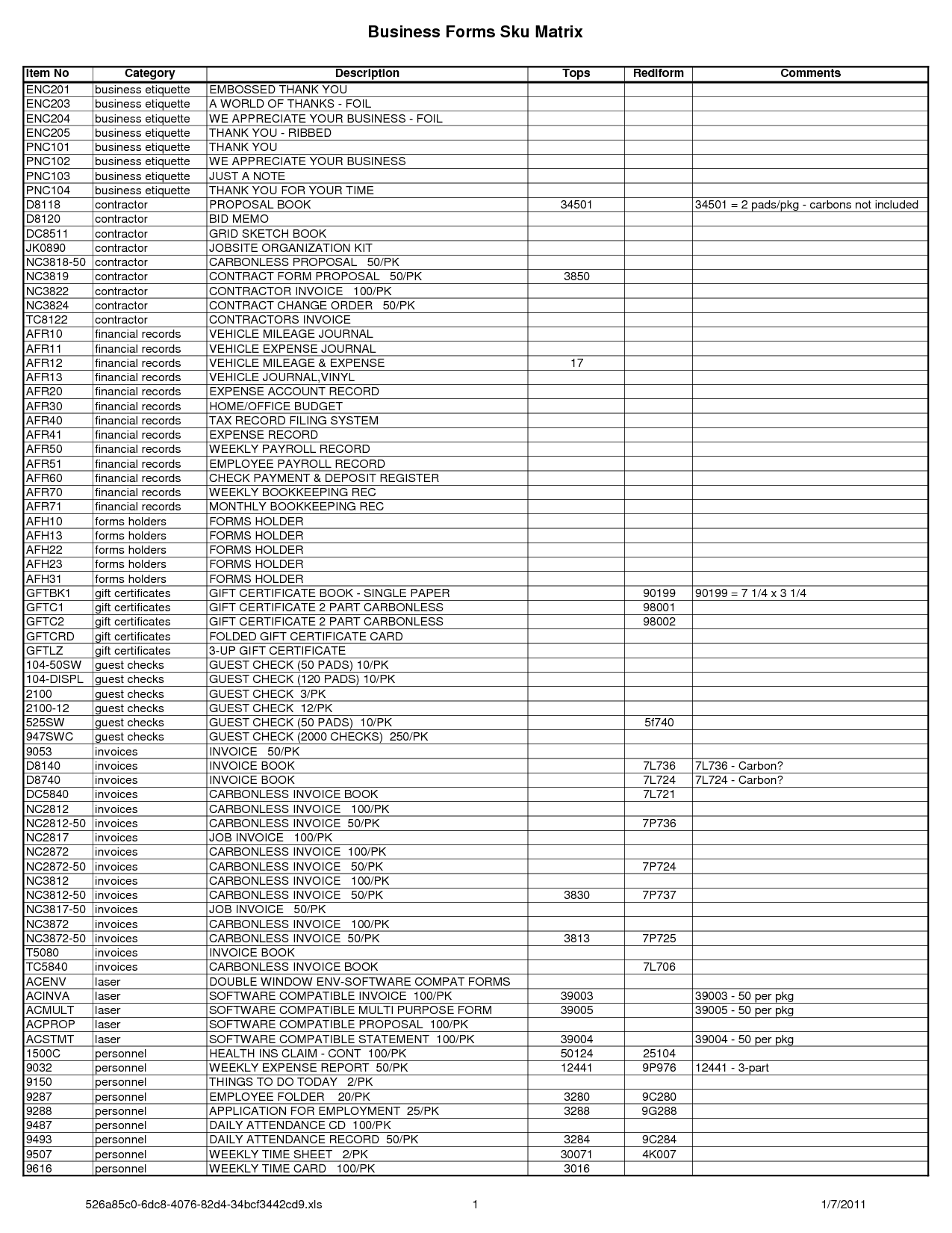 Sample Excel Worksheet Accounting