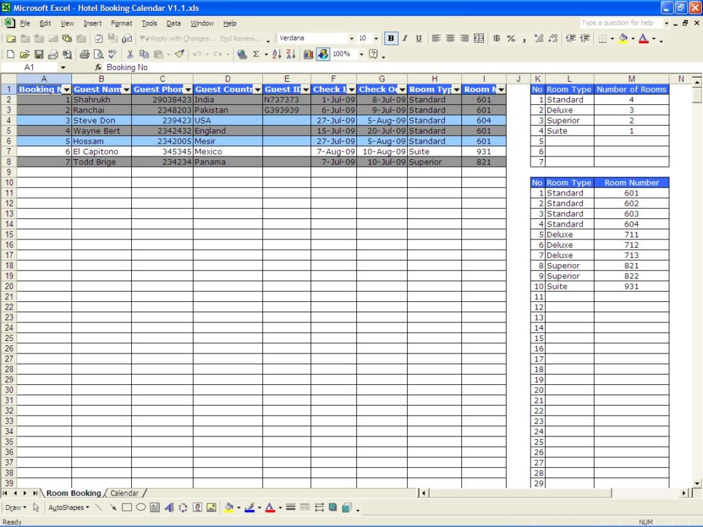 Spreadsheet For Incident Tracking