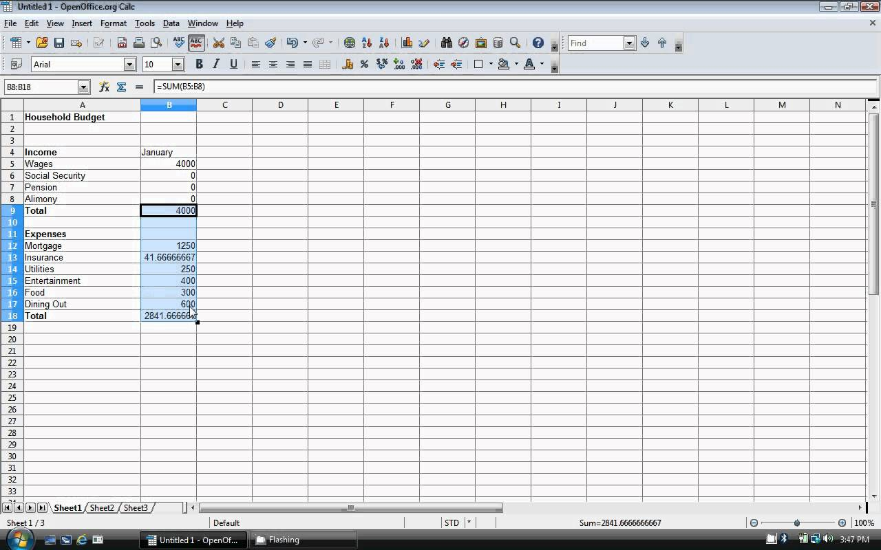 Download Templates Dave Ramsey Budget Spreadsheet Excel