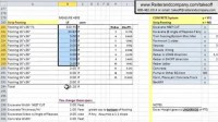construction schedule template excel free download ...