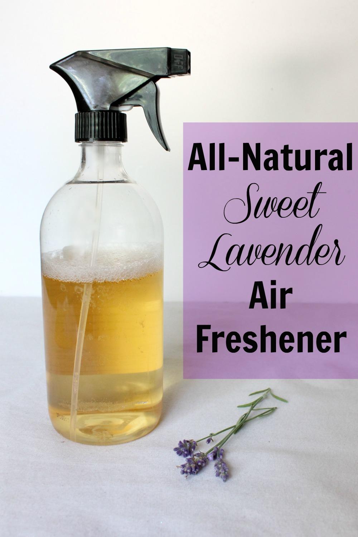 AllNatural Sweet Lavender Air Freshener  Natural Chow