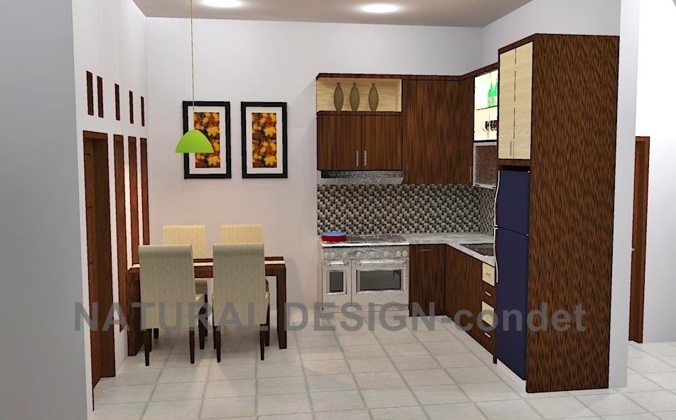 Area Dapur dan Ruang MakanPak GatotKemandoran  Natural