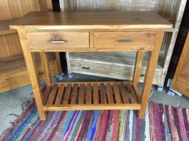 Indonesian Teak Furniture Hall Side Table