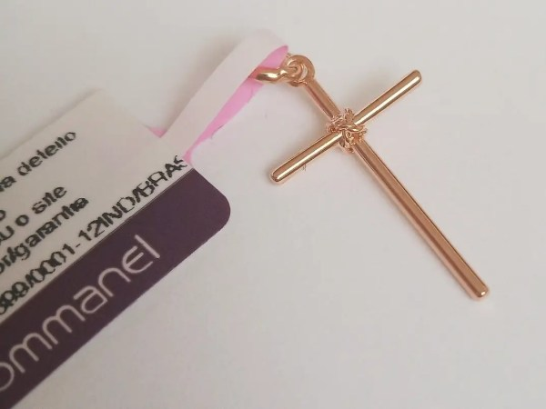 Pingente Rommanel 540180 crucifixo