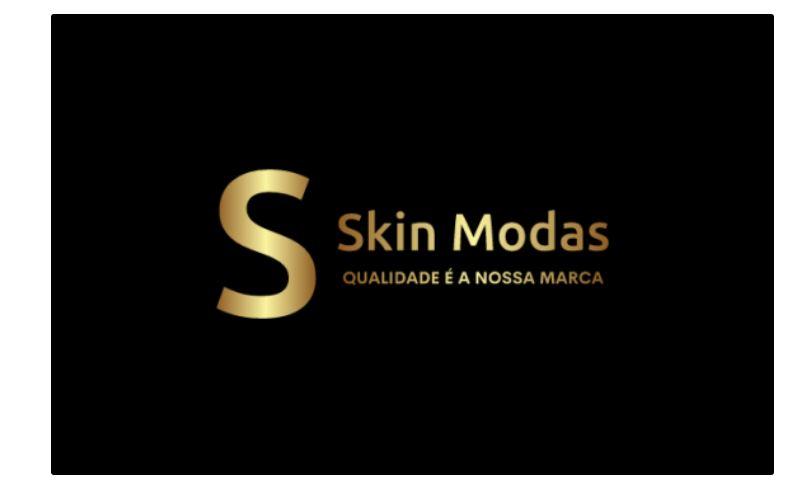 imagem mostrando a logomarca da Skin Modas
