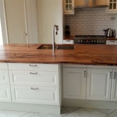 Kitchen Cabinets With Legs Decorative Towels Timber Bench Tops - Natural Edge Furniture