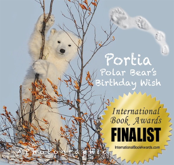 Portia Polar Bear's Birthday Wish Finalist in International Book Awards