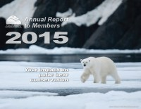 Cover of 2015 Polar Bears International Annual Report