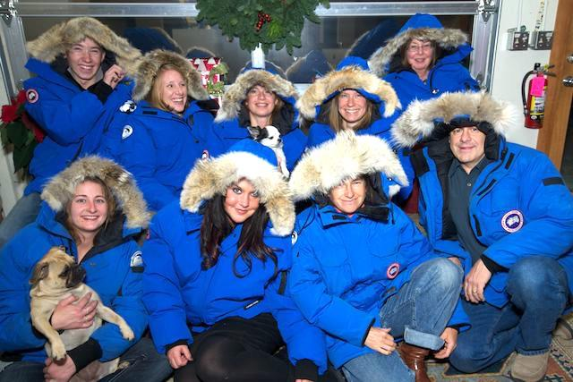 Polar Bears International and Natural Exposures office staff.