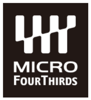 Look for this logo to be sure that you're camera is Micro Four Thirds compatible.