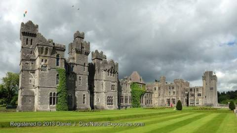 Ashford castle, Ireland.