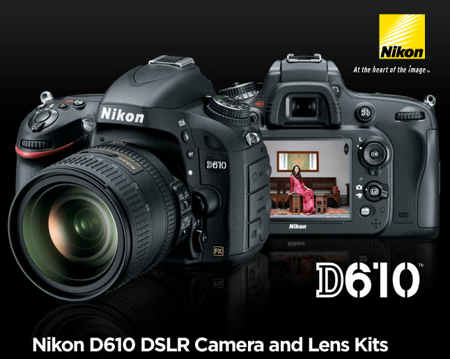 The new Nikon D610 is one of the new cameras supported by the latest update to Apple's Digital Camera RAW.
