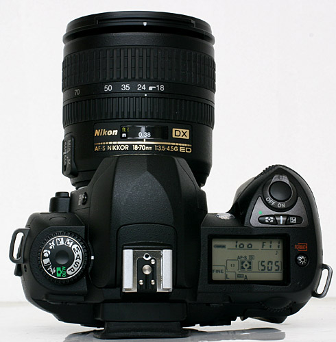 Nikon's D70s incorporated a dial for changing the Exposure Mode which looked and felt similar to the old F3's dial to change Shutter Speeds.