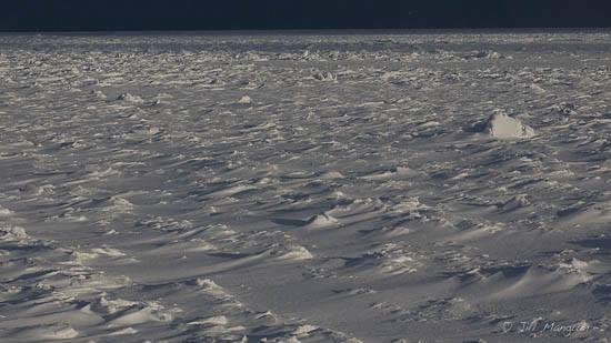 Ice on Hudson Bay.