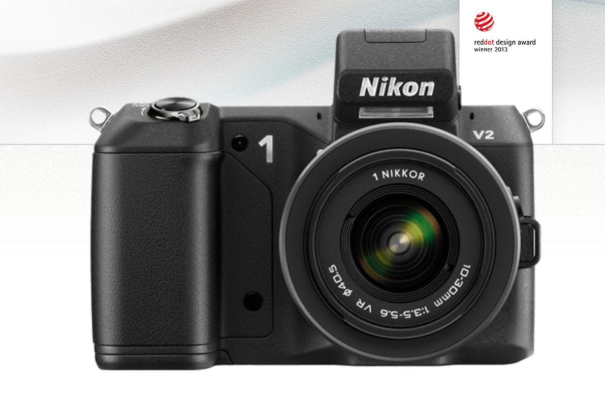 Nikon's 1 inch sensor mirrorless the Nikon 1 V2
