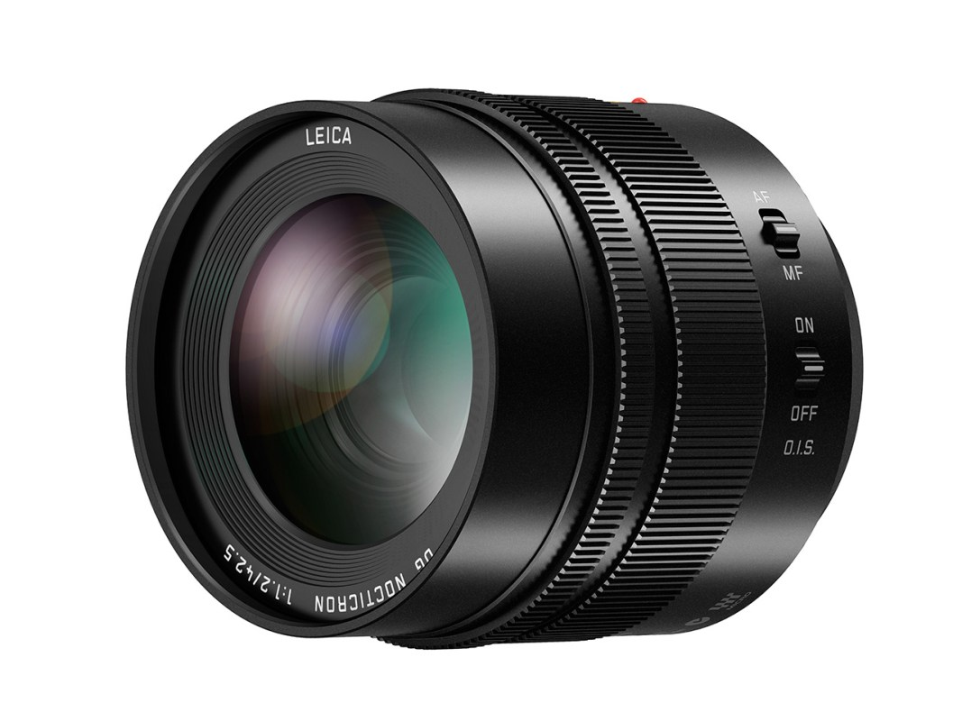 The Lumix 42.5 Nocticron F/1.2 lens.