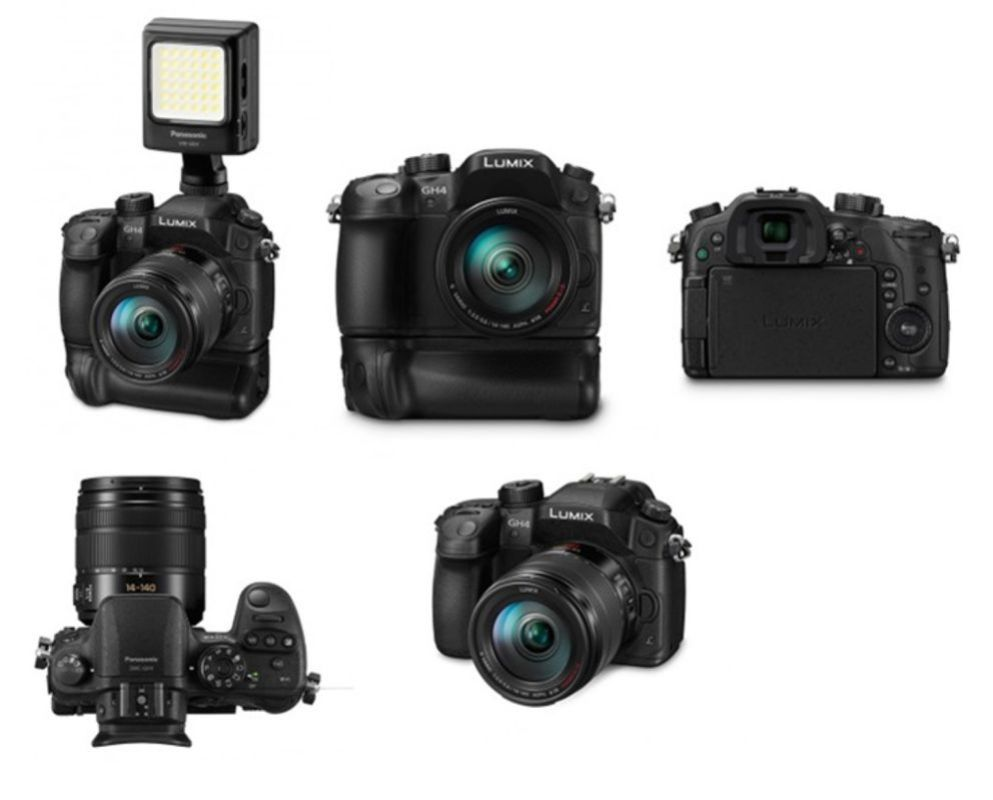 The first photos of the updated GH3 which is predicted to have 4K video capture.