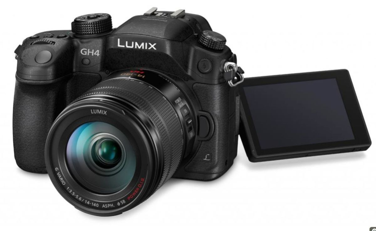 The Panasonic Lumix 4k GH4.
