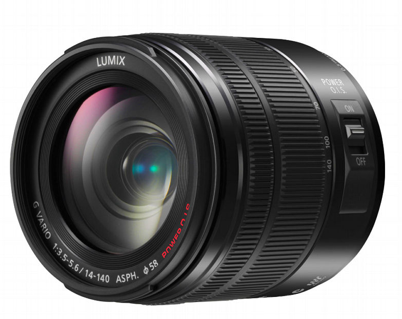 The Panasoinc Lumix 14-140mm F/3.5-5.6 zoom.