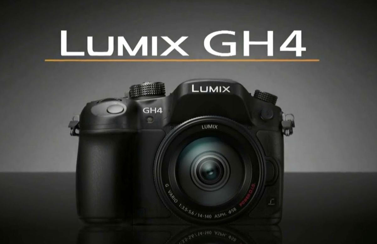 The new Lumix GH4.