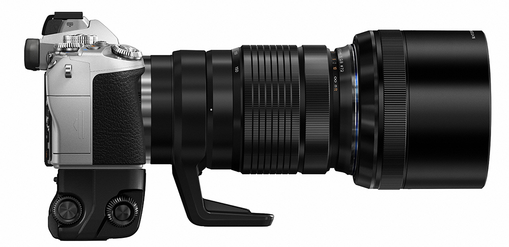 The new silver version of the  Olympus E-M1 camera with the even newer 40-150mm F/2.8 Zoom. What a gorgeous looking lens.