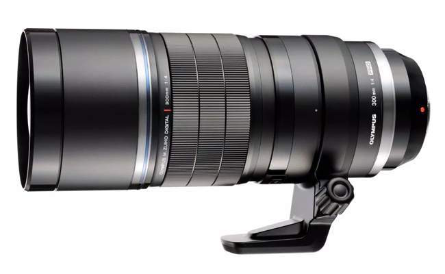 Olympus 300mm F/4 to get Image Stabilization.