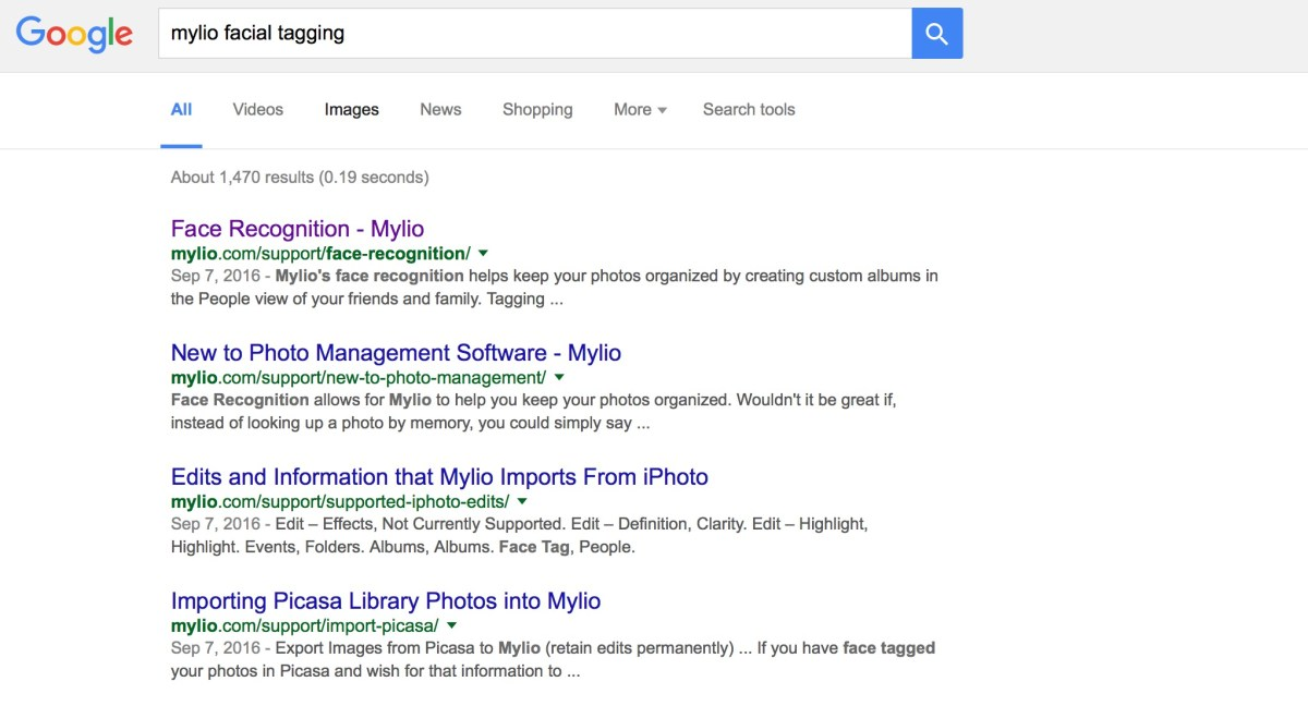 Mylio Tip: Google Your Wish for Mylio and See What Pops Up Like