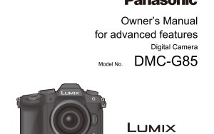Click on the image to be taken to the download site for the Lumix G80/85 manual