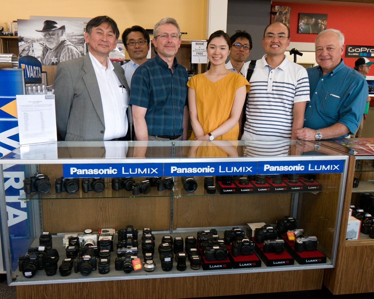 Panasonic Lumix Engineers Visit Bozeman