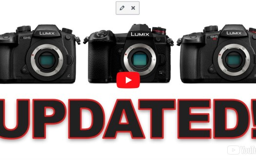 Lumix Firmware Updates
