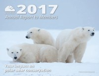 Cover of 2017 Polar Bears International Annual Report