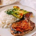 Asian Seared Pork Chops