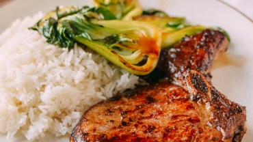 Asian Seared Pork Chops
