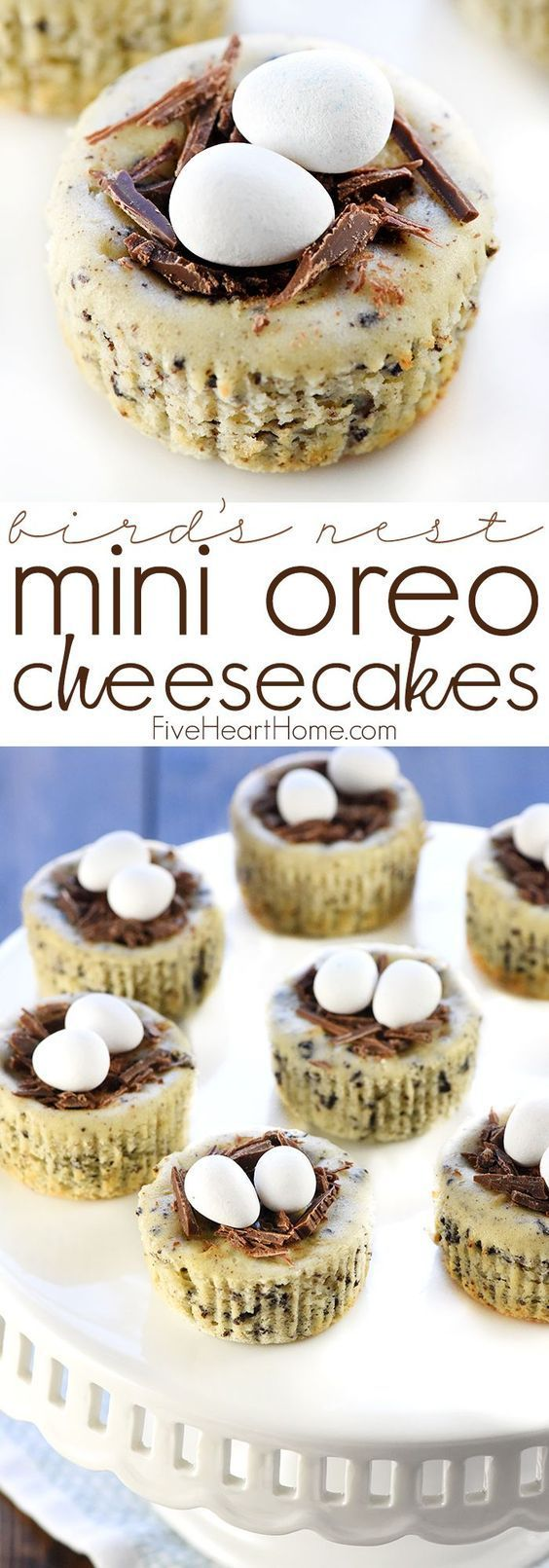 Bird Nest Mini Oreo Cheesecake