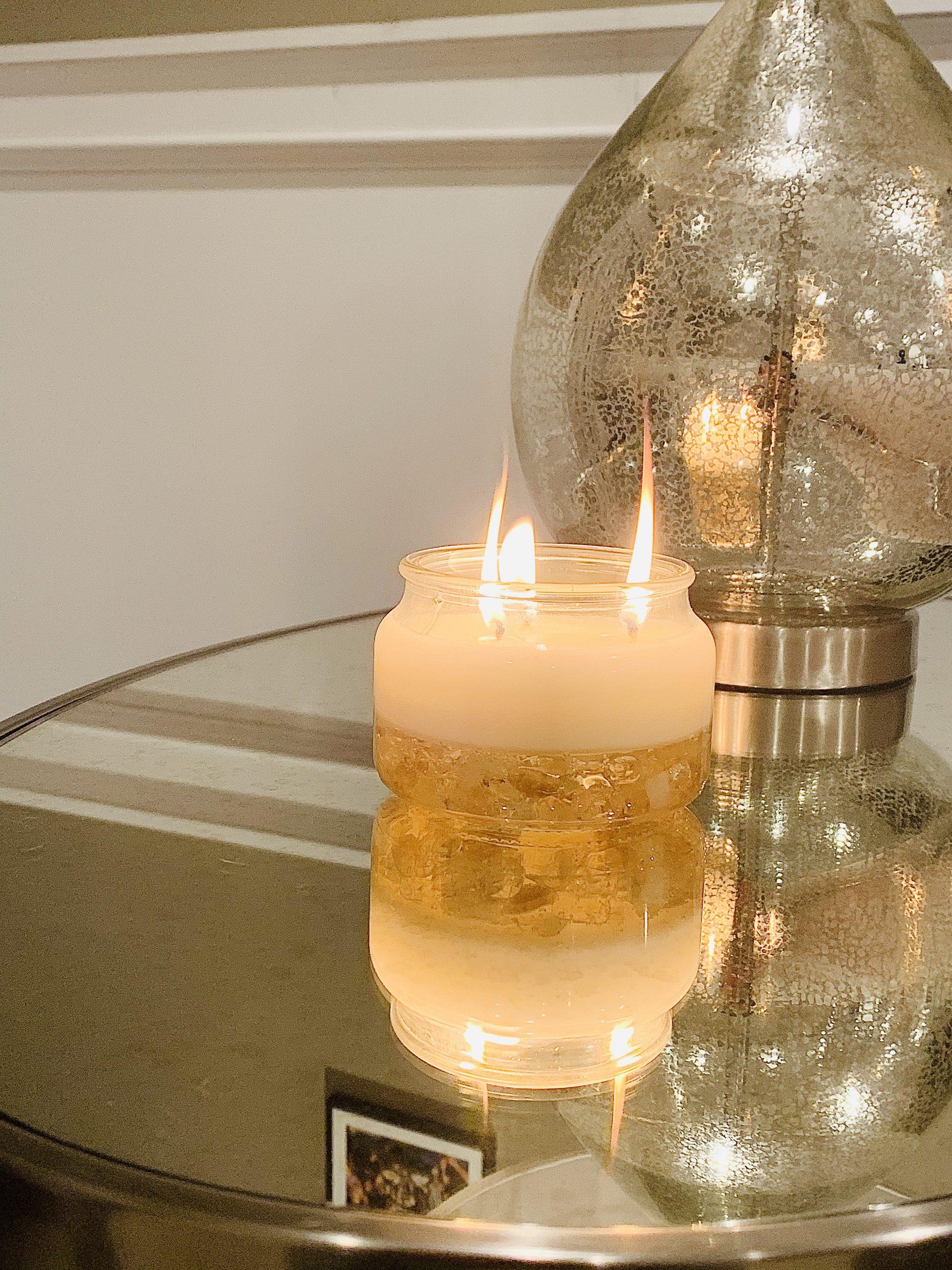 Healing Crystal Candles