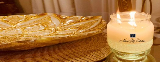 Candles infused with Moringa